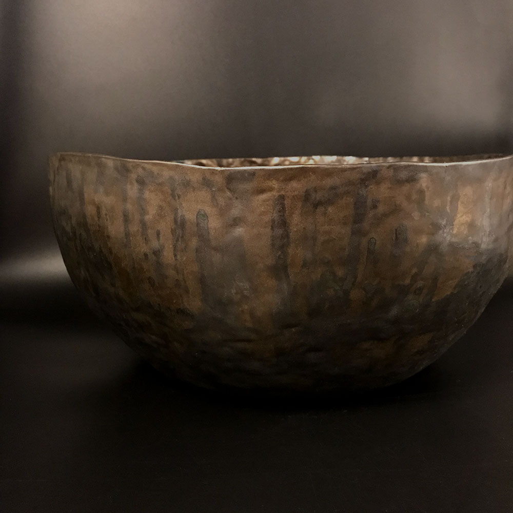 Saturated Gold Bowl #leonpotterbakker