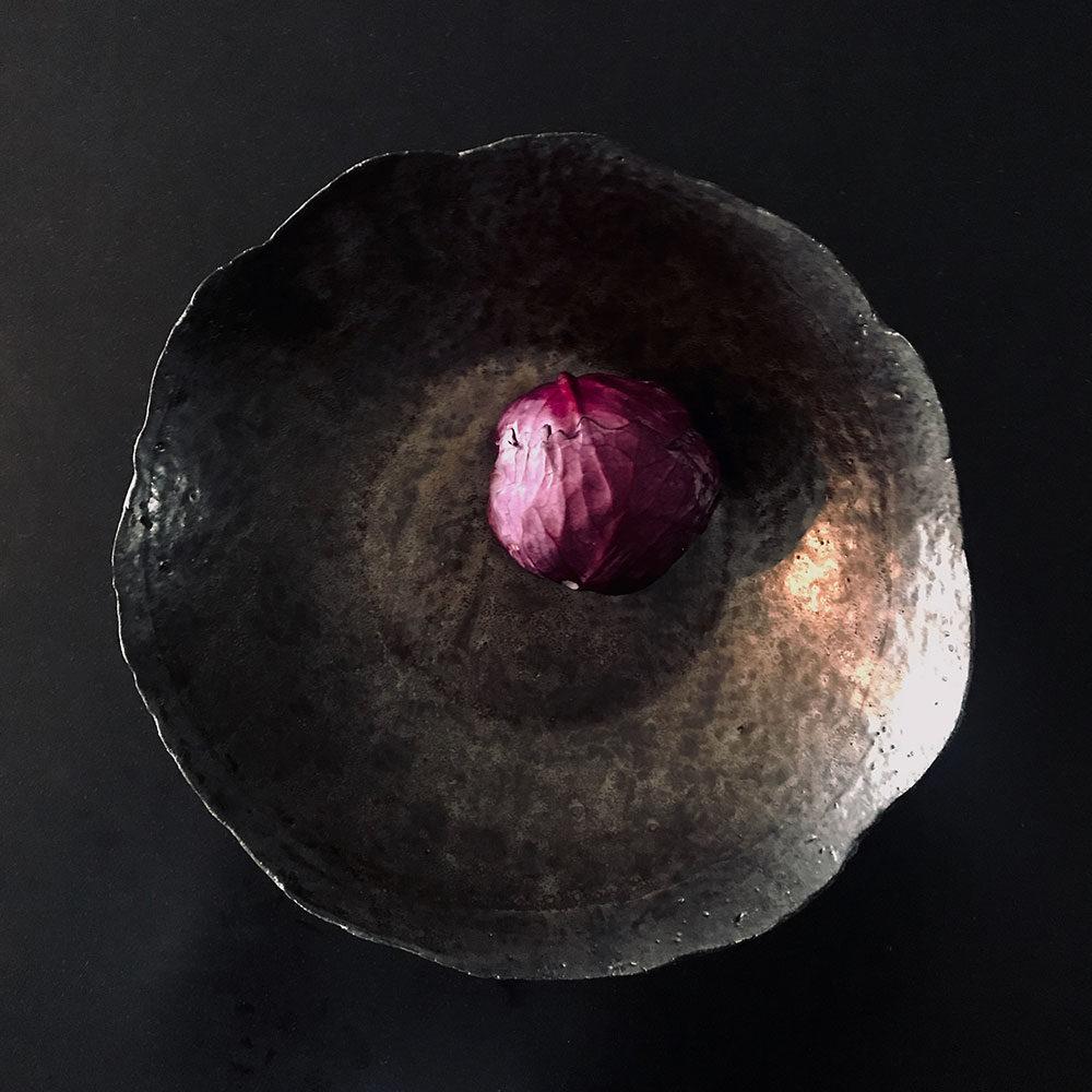 Copper Glaze Fruit Bowl